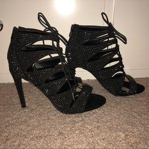 madden Girl Rhinestone Heels